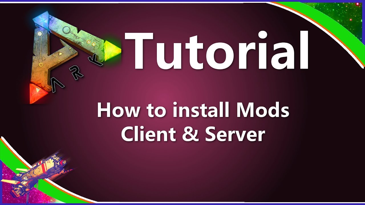 ARK - HOW TO INSTALL MODS CLIENT & SERVER [ Ark Tutorial ] by Neocrypter
