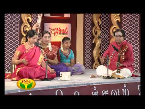 Margazhi Utsavam Nithyasree Mahadevan Part 01 - On 17/12/14