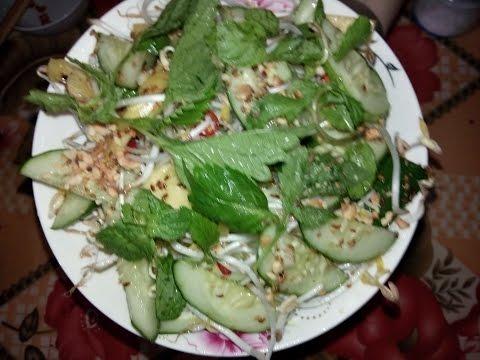 Nộm dưa chuột giòn ngon hấp dẫn _Cucumber salad recipe