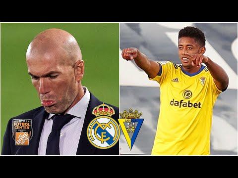 Análisis: Real Madrid vs Cádiz. VERGONZOSA derrota del equipo de Zinedine Zidane | Futbol Center