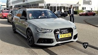 Audi R(S) in ACTION: RS3, RS6, R8 & More! Revs & Acceleration SOUNDS!