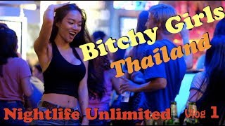 Nightlife Chiang Mai 2018 Clubs Bars Bitchy Girls Zoe In Yellow Thailand
