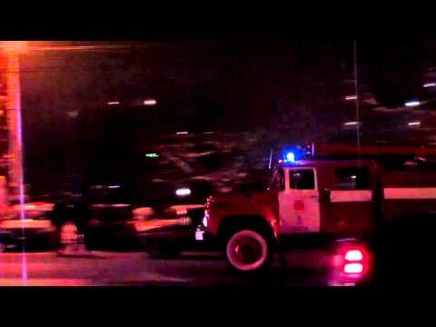 Fire truck with siren, Odessa