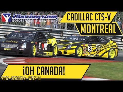 iRacing | Oh Canada!! | Global Challenge @ Montreal | 2017S2W10