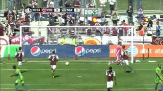 GOAL: Clint Dempsey calmly chips in the PK | Colorado Rapids vs. Seattle Sounders