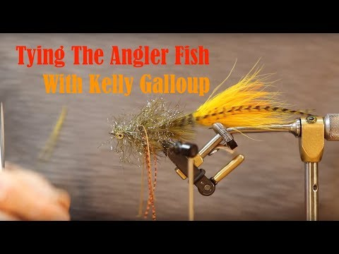 Tying The Angler Fish with Kelly Galloup