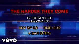 Jimmy Cliff - The Harder They Come (Karaoke)