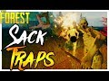 The Forest   SWINGING SACK TRAPS   Super Hard Ep.10
