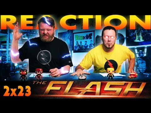 """The Flash 2x23 FINALE REACTION and SLAPBET!! """"The Race of His Life"""""""