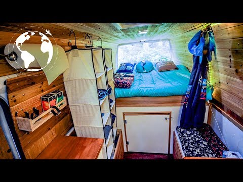 21 Year old trades Apartment in Seattle for Life on the Road in Sprinter Van