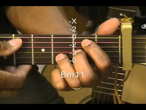 How To Play CLARITY Guitar Chord Shapes #46 Lesson Capo1 A7sus4 ...