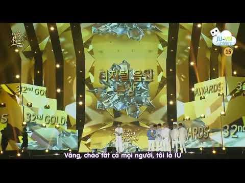 [VIETSUB] IU chia sẻ cảm nghĩ nhận giải Bonsang tại Golden Disc Awards lần thứ 32