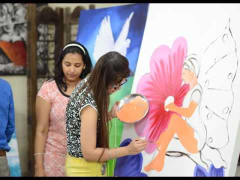 Art and craft courses at raghuvansham group of institutions school & college of modern art.