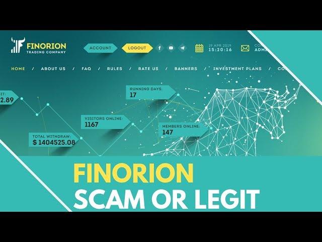 Finorion.biz Review - SCAM or LEGIT (Full Review)