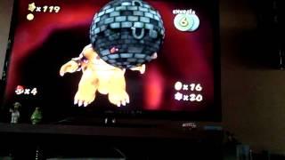 Mario Galaxy 2 Wii (Castillo de Bowser)
