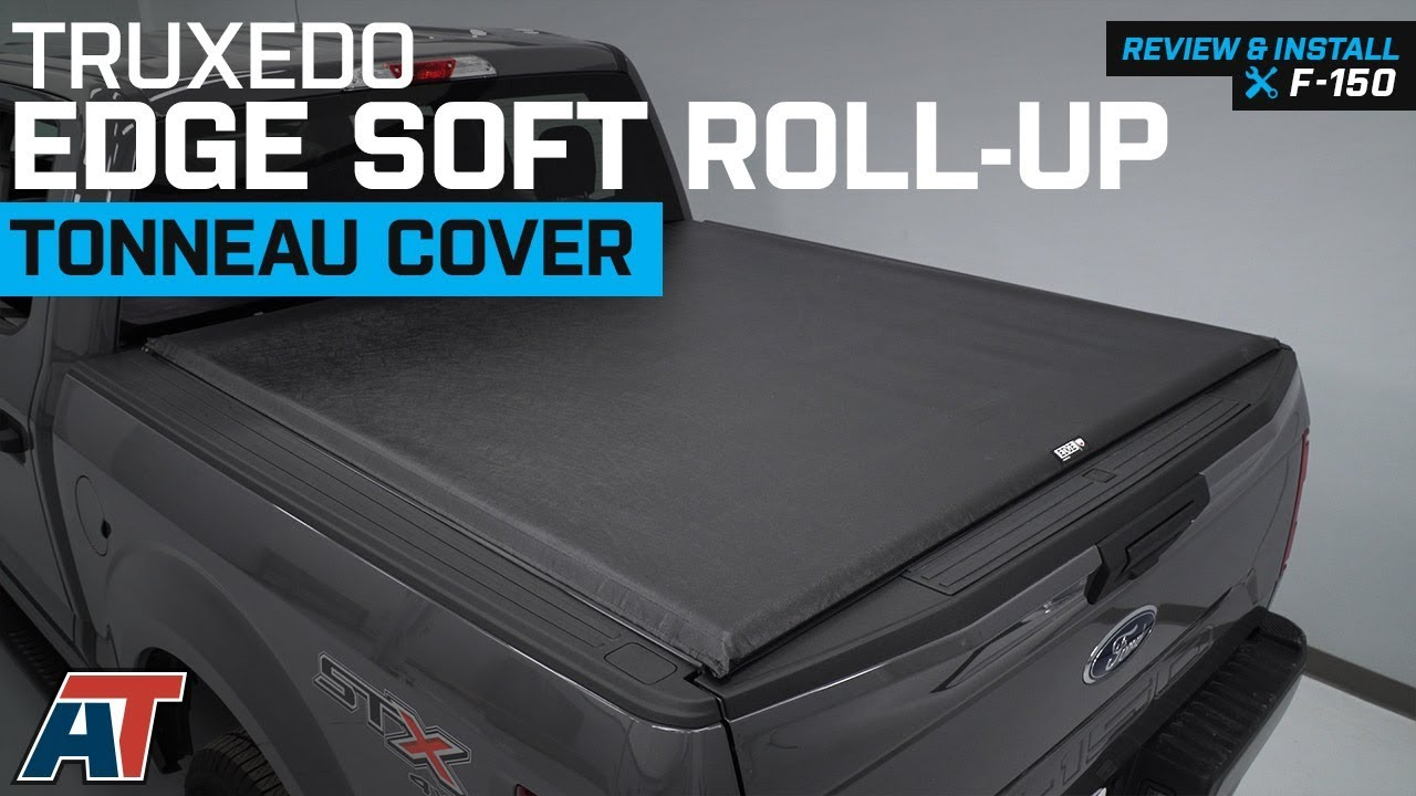 2015 2018 F150 Truxedo Edge Soft Roll Up Tonneau Cover Review Install Youtube