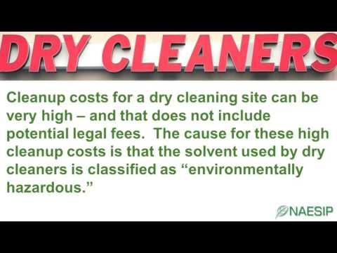 Dry Cleaners Pollution Insurance