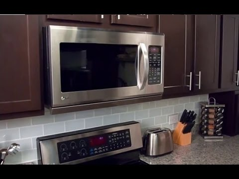 Best Over The Range Microwave Consumer Reports >> Best Over The Range Microwave Oven 2019 Review Youtube