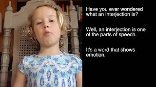 What is an interjection? Alice will tell you.