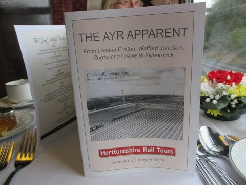 THE AYR APPARENT RAIL TOUR. ( see write up ) 27.08.2016