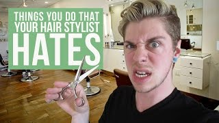Things You Do That Your Hair Stylist HATES