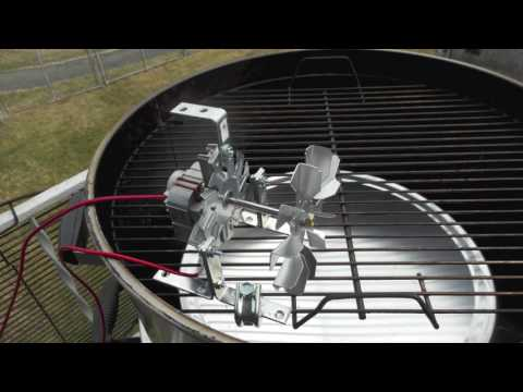 putting a convection fan in a bbq smoker youtube