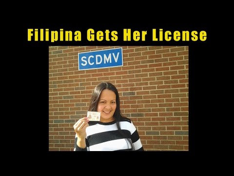 Driver's License Road Test with Pretty Filipina