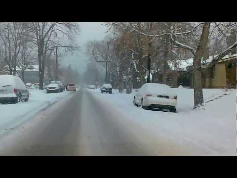 Winter Driving in Denver, Colorado
