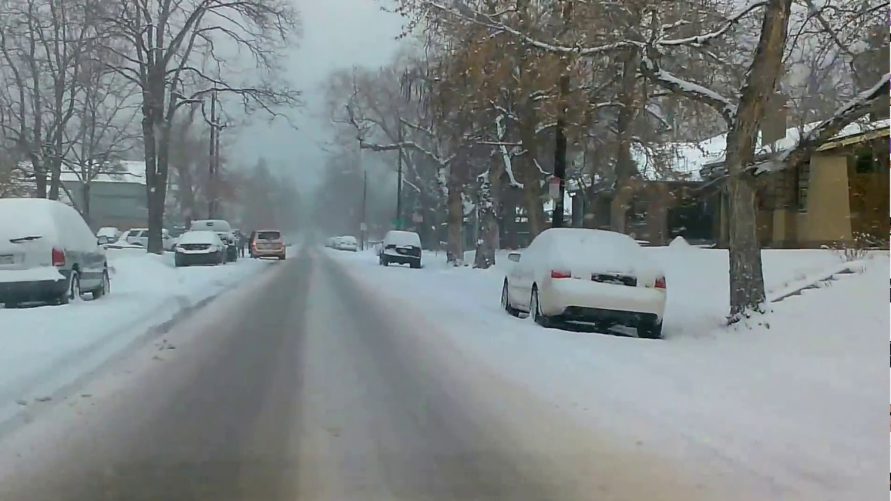 Used Tires Denver >> Winter Driving in Denver, Colorado - YouTube