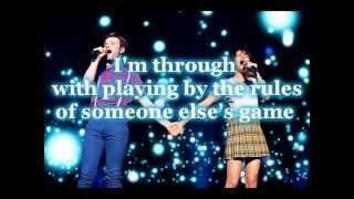 Glee ~ Defying Gravitiy ~ sing with Kurt