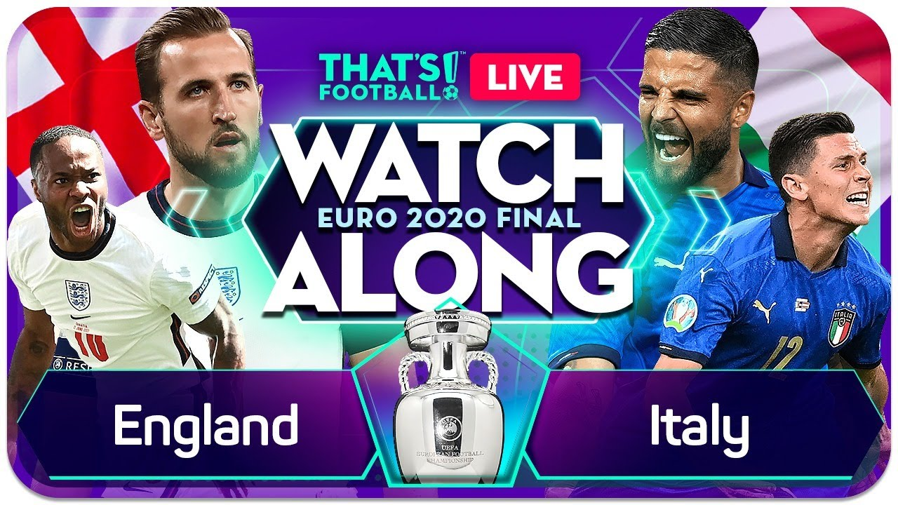 Euro 2020 final: Italy vs England  Live