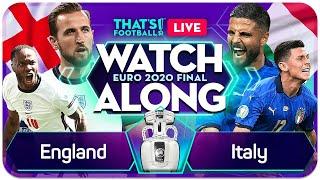 ENGLAND vs ITALY LIVE EURO 202O Final Watchalong Mark GOLDBRIDGE LIVE
