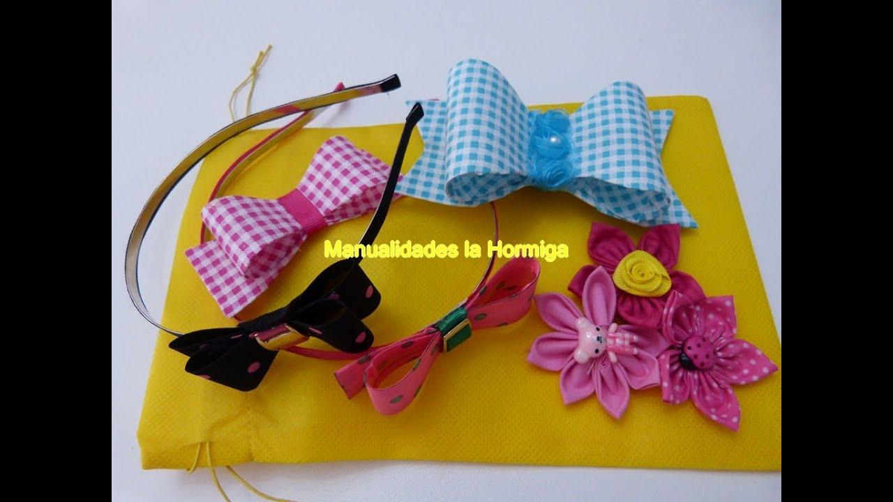 Mo os en acetato para decorar diademas bows in acetate to for Decorar con lazos