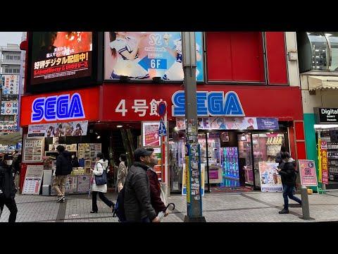 Visiting a SEGA Arcade in Japan's Akihabara!