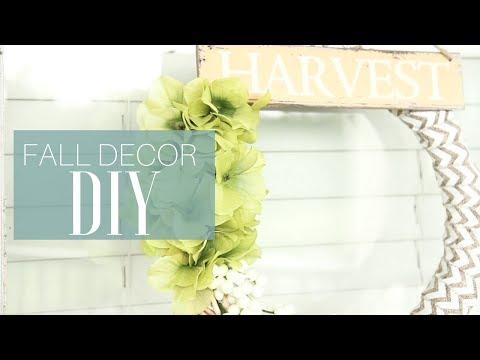 DIY Fall Decor!
