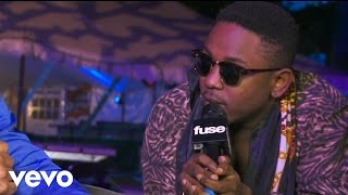 Kendrick Lamar - Backstage with Fuse (Bonnaroo 2012)