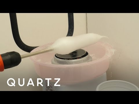 A cotton candy machine that could heal wounds