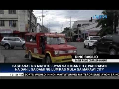 Many hotels in Iligan City, fully-booked due to evacuees from Marawi City