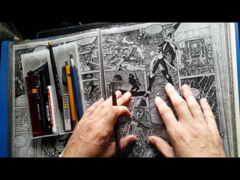 01 : Introduction to the channel and a quick Comic book drawing and graphic novel creation tools.