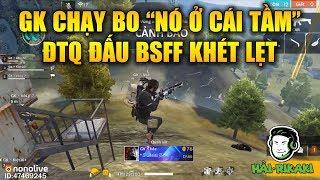 Free Fire | GK Khả Năng Chạy Bo Cực Đỉnh - ĐTQ Đại Chiến BSFF Căng Đét Siêu Khét | Rikaki Gaming