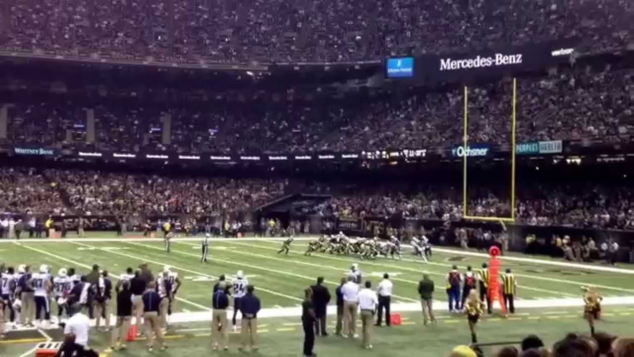 Good Best Seats In The Superdome