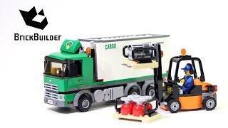 Kijk LEGO City 60020 Vrachtwagen filmpje
