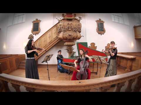 Ensemble Cheron plays trio sonatas by Andre Cheron