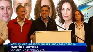 """Martín Llaryora felicitó a Héctor Baldassi """"por el triunfo"""""""
