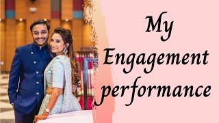 #sunsathiya Sun Sathiya | Sau Aasmaan | #Dance Choreography | Solo Engagement #Bride #Performance