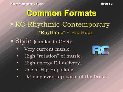 Radio Formats and Styles