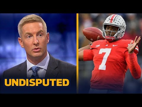 Joel Klatt talks CFB Playoff rankings, says the Heisman Trophy is a 3-man race | CFB | UNDISPUTED