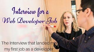 Web Developer Interview