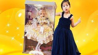 서은이의 공주 구체관절인형 드레스 화장 공주 놀이하기 Giant Spherical Joint Princess Doll