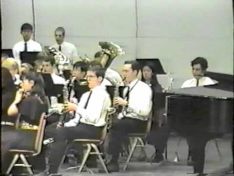 El Dorado High School Wind Ensemble, 1993